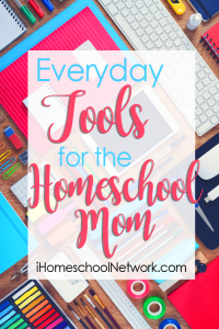 Tools for Homeschool Moms Link Up