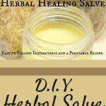 We use this herbal salve for