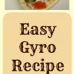 This Gyro recipe is easy to make with many different kinds of meat. Delicious and frugal because you can use what's on sale or in your freezer!