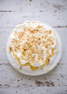 This pavlova is a delicious way to use up extra egg whites!