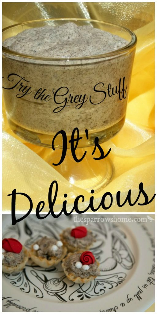 An easy recipe to make The Grey Stuff at home. It's Delicious!