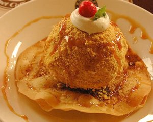 Homemade fried ice cream sundaes are just as delicious as the fancy restaurant version, but so much easier!