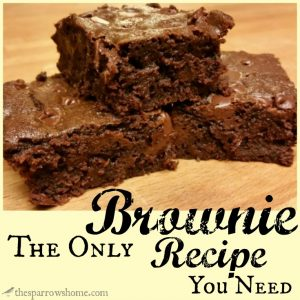 These fudgy brownies are the perfect canvas for add ins and customization. And they're SO easy! What will you add?