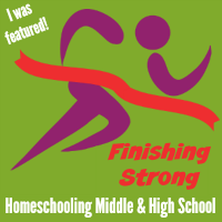 Finishing Strong is just one of the Link Ups where I contribute.