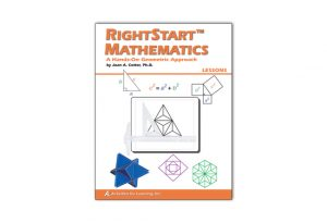 RightStart Geometry was one math curriculum that we've used. Read honest reviews of them all here!