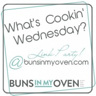 What's Cookin' Wednesday is just one of the Link Ups where I contribute.
