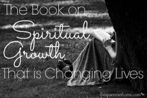 I have never taught material that so resonated with people. This book on spiritual growth is an easy read, but challenges you to examine and take action.