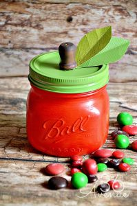 This DIY Apple Jar filled with treats makes this mega list of unique gift ideas.