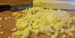 This recipe for skillet grilled corn is amazing!!