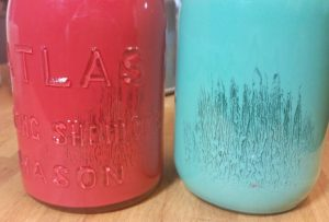 Learn from my mistakes if you make these painted Mason jars!
