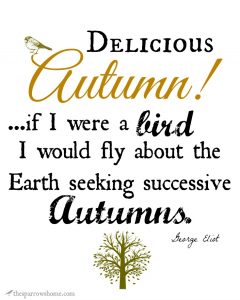 Printable Fall Poetry. Remind yourself to savor this beautiful season.