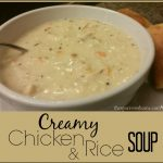 This creamy chicken and rice soup is easier to make than you might think.
