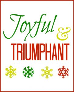 Free Christmas Printables to brighten your season!