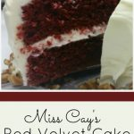Classic, Southern Red Velvet Cake is so much more than just a fad. Slathered with rich, cream cheese icing...it is a moist, decadent treat