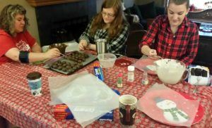 Host a Christmas cookie baking day!