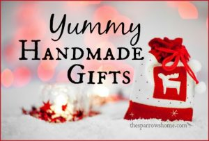 A list of tasty, easy to make handmade gifts from your kitchen. Links to every delicious recipe!
