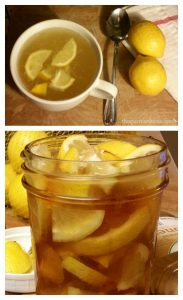 Honey lemon soother recipe.