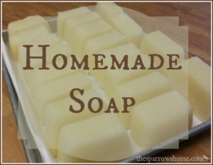 Have you ever thought about making homemade soap? It's not as hard as you might think. Click here for my tips, pictures of the process, and links to tutorials with step by step instructions.