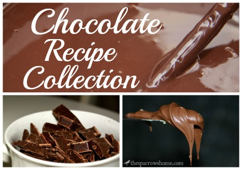 Chocolate, Chocolate, & More Chocolate Recipes | The Sparrow's Home