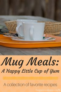 A collection of favorite mug recipes (and instructions on making a master mix)