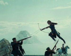 The fighting sequence in Wonder Woman inspires me to want to be strong.