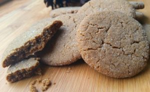 Ginger snaps. Sometimes called molasses cookies or molasses crinkles...it's a classic recipe!