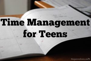 Teach Time Management and Foster Independence in Your Teen with a Weekly Planner.