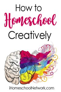 homeschool creatively