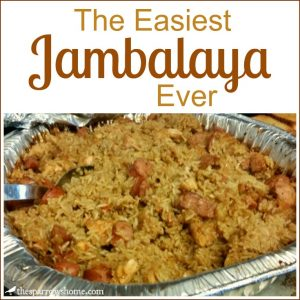 Chicken and Sausage Jambalaya... easy and delicious!