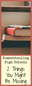 Homeschooling high school can be intimidating, as is looking ahead to college. We discovered 2 ways to focus our high school studies and drastically cut college costs!