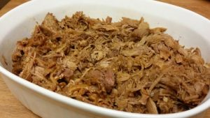 An easy to put together, slow cooked, tender pulled pork. It's a great freezer meal to pull out on busy nights.