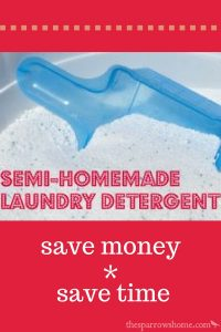 Stretch your favorite powdered detergent much further!
