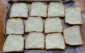 Making Texas toast to keep on hand is one of my favorite freezer recipes.
