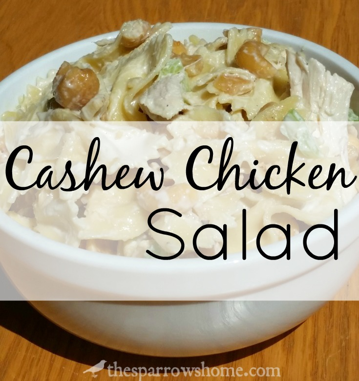 A slightly sweet dressing, salty nuts, crunchy celery, tender chicken and lots of ways to customize. This is the best chicken salad ever!
