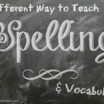 Spelling Wisdom from Simply Charlotte Mason is a unique and effective way to teach spelling.