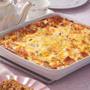 This egg bake is perfect for customizing just the way you like it!