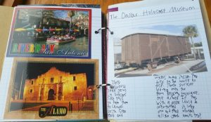 A Smashbook is a creative way to organize learning while travelling. We love them!