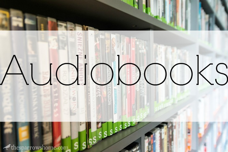Audiobooks for your next road trip. We loved all of these!