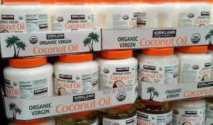 Coconut oil is one of the things I always get at Costco. These huge two packs break down to be the best price I've found.