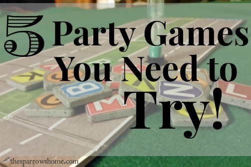 It's hard to know which party games are winners. These are ones we play over and over.