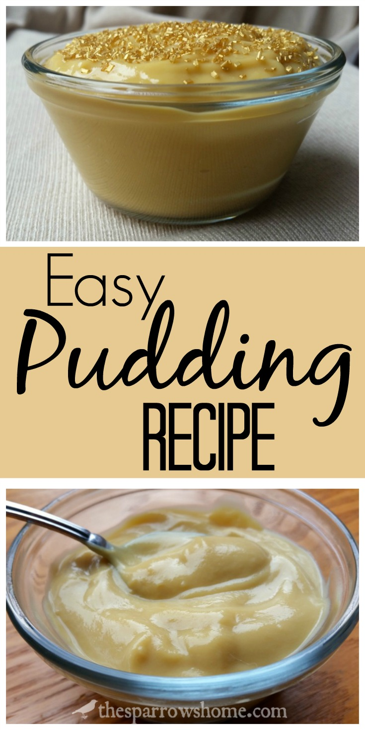 Quick and easy recipe for homemade pudding that can be customized in LOTS of ways!