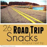 This is a great list of road trip snacks! I am always looking for snacks that travel well.