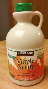 Costco's real maple syrup is on my must buy list.