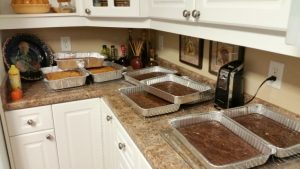 Feeding 30 people for a week is a big task! Baking ahead is budget friendly and easy!