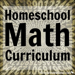 """One of the best things about homeschooling is being able to find a curriculum that """"fits"""" your student. We've used a variety of math curriculum over the years. Here are my reviews of all of them!"""