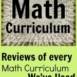 The ultimate math curriculum review collection. Elementary through high school. Giant fails & huge successes. Find what's best for your homeschool.