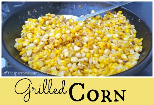 Fresh summer corn hot from the grill. So easy!