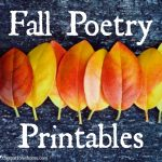 Printable Fall Poetry. Remind yourself to savor this beautiful season. Breathe in the crisp air , enjoy the view, thank our creative Creator.