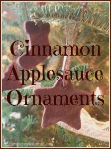 These easy cinnamon ornaments are easy to make and smell heavenly!