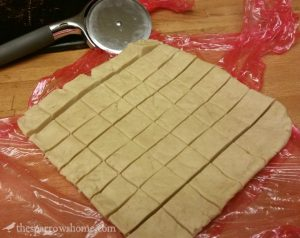 Melt in your mouth shortbread squares.